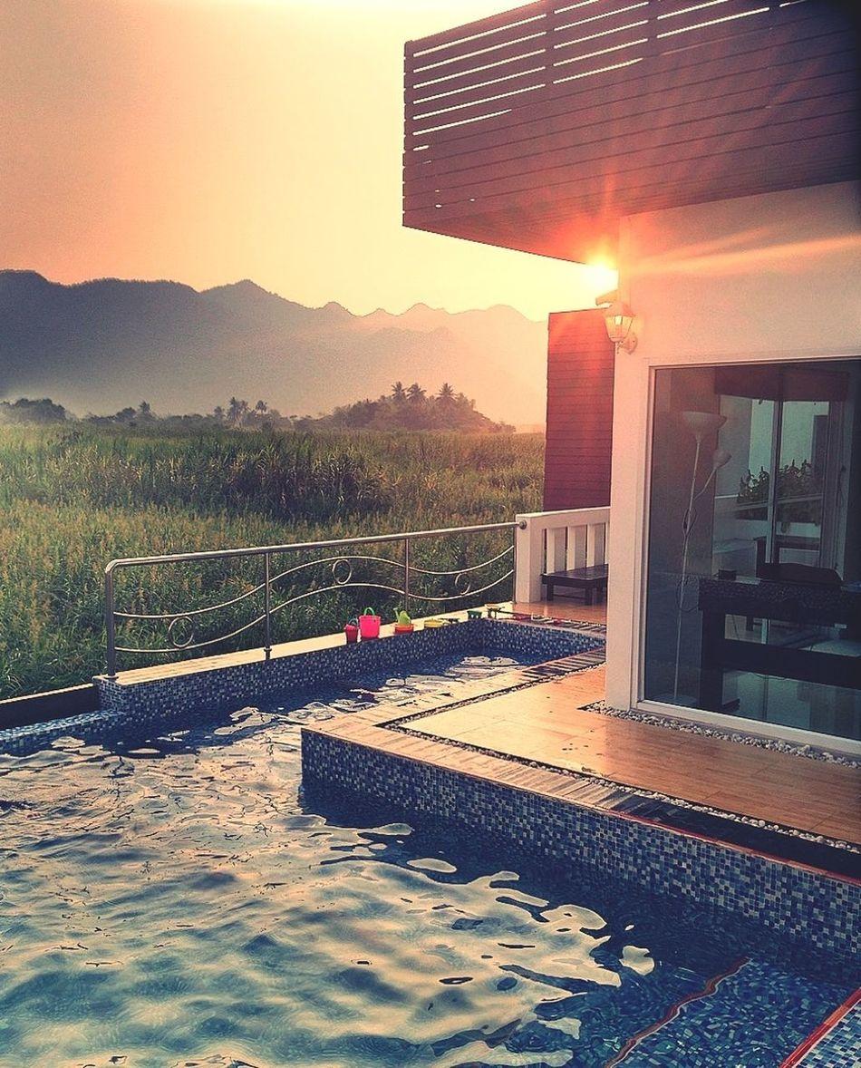 sunset private pool villa Sunset Great Views Holiday Beautiful Surroundings