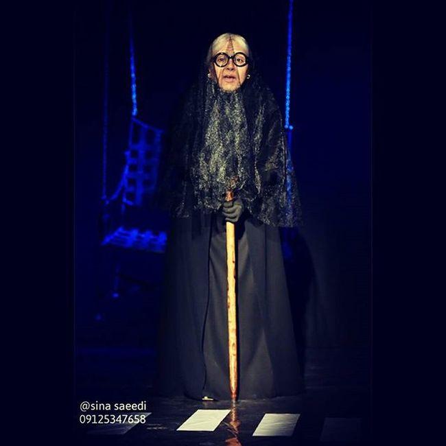 لیلا برخورداری در نمایش شب بخیر جناب کنت هر شب به جز سه شنبه ها سالن گوشه فرهنگسرای نیاوران Teatre  Leilabarkhordari