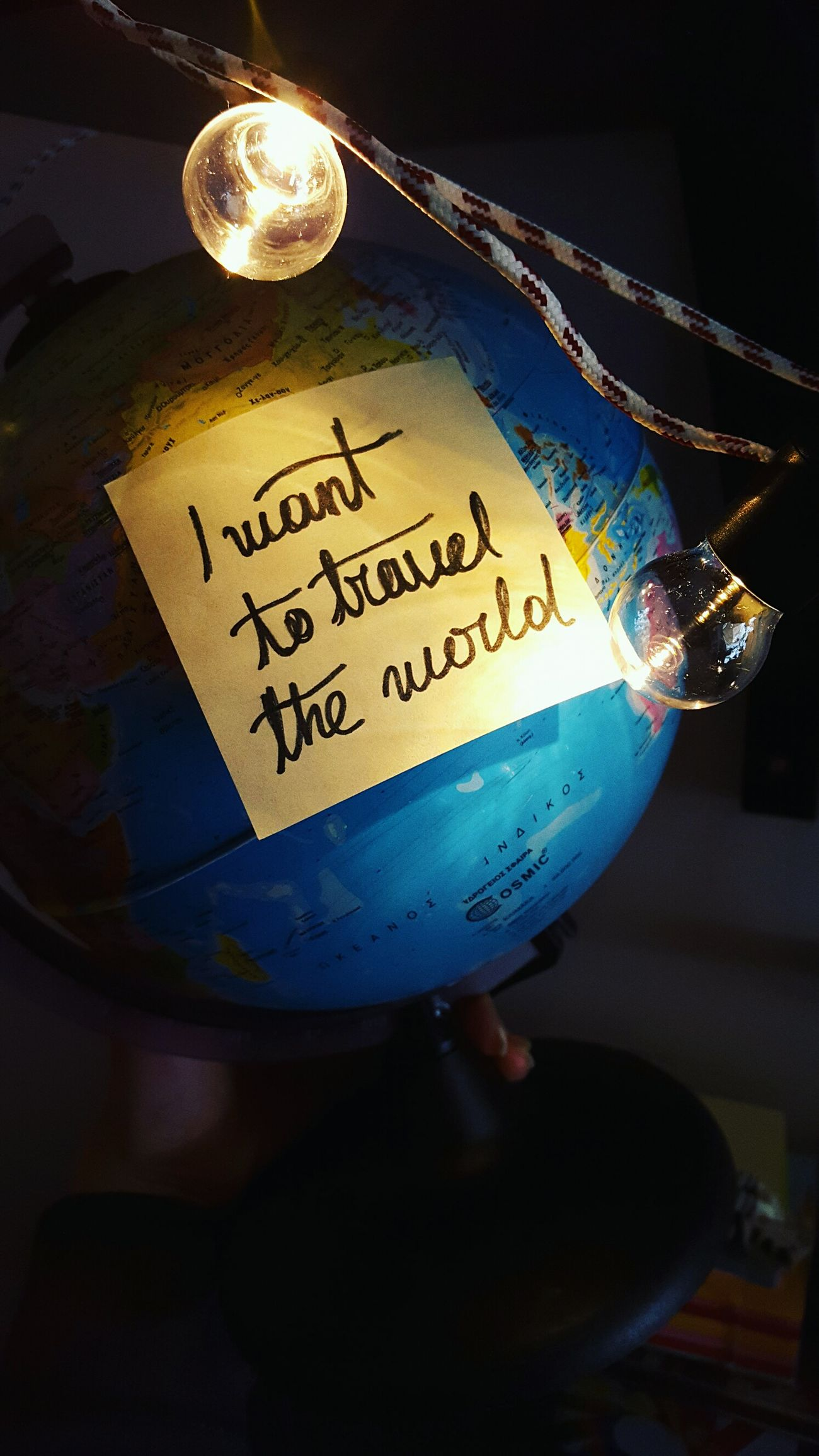 Travel World Lights Close-up No People Multi Colored Multicolor Globe Earth Traveling