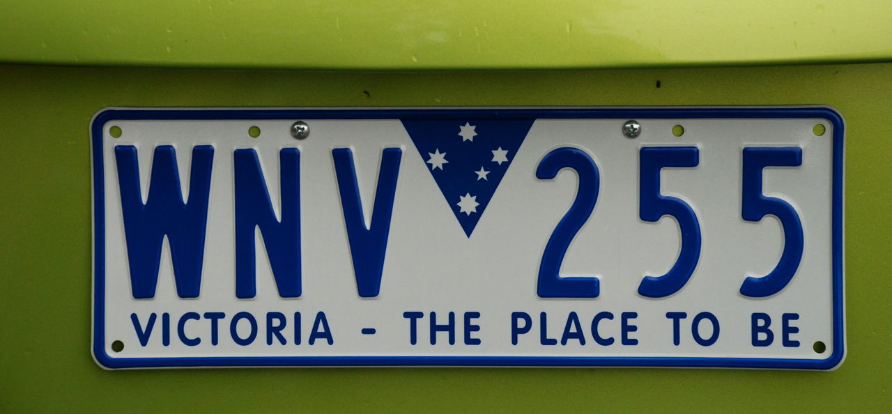 Victoria state plate. Australia Aussie Australia Australian Business Car Plate Close-up Communication Melbourne No People Outdoors Plate Plates Text Transport Transportation Victoria Victoria The Place To Be