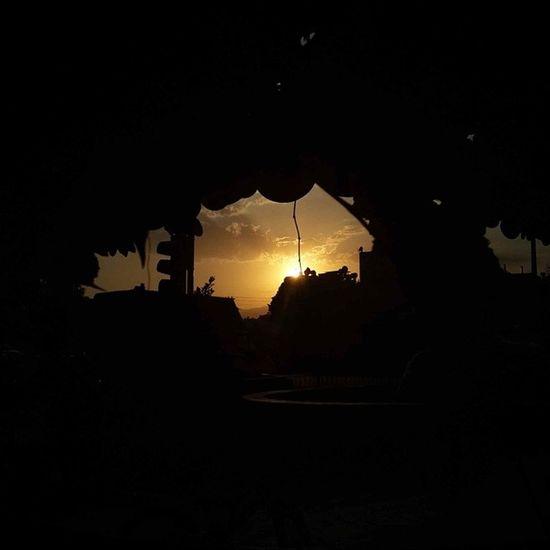 Bugünü de batırıyoruz yine... Mersin Anıt Siluet Sunset