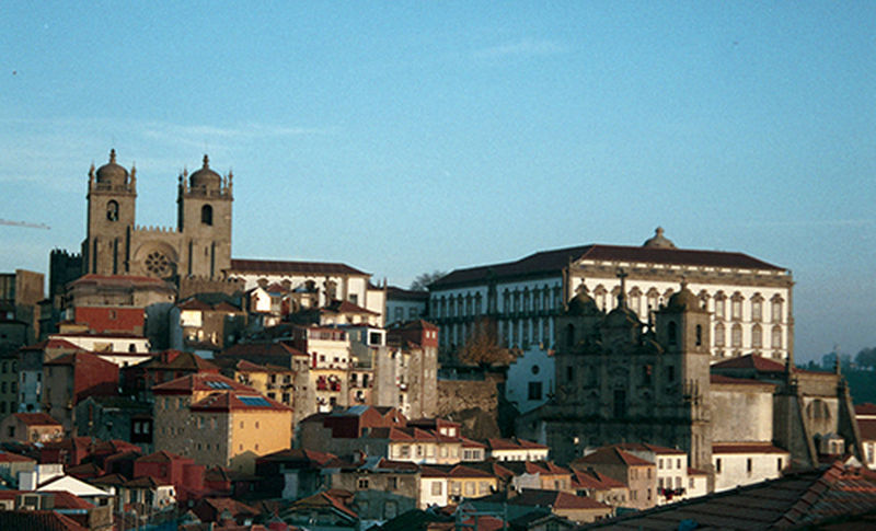 Architecture Blue City Cityscape Day Heshotsfilm Joseoliveira No People Outdoors Porto Sky TOWNSCAPE Travel Destinations