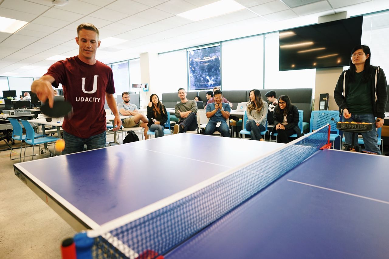 Ping-pong 🏓 // Table Tennis Indoors  Sport Standing Real People Candid Young Adult Togetherness Adult Student Men Friendship Day People Adults Only