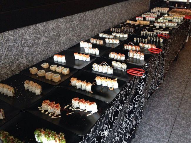Salibar hasta salir rodando del restaurante Sushi Shushi Lover Sushi Time Japo Japonesefood Saborear... Perdicion Delicia Comer Disfrutar
