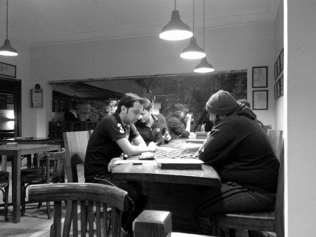 Winter , Chess and Coffèè Blackandwhite Relaxing Enjoying Life Hello World