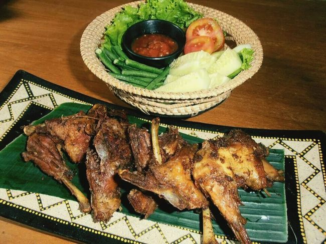 Lombok traditional restaurant Check This Out