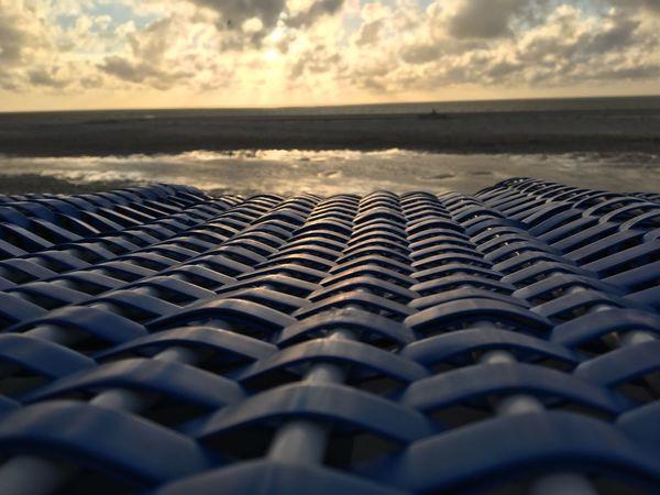 Strandkorb On The Beach Beachporn Sunset