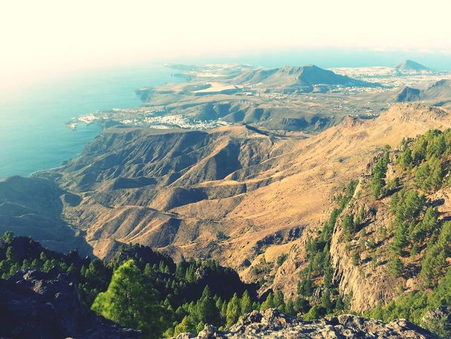 Increíbles vistas desde Tamadaba