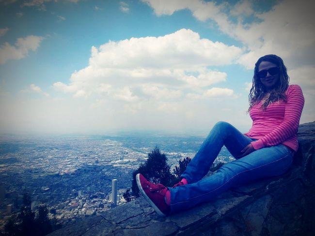 Colombia ♥  preciosa vista de Monserratte