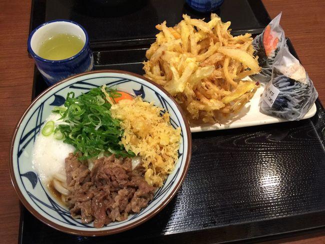 Udon Marugame Marugameudon うどん 肉とろたまご