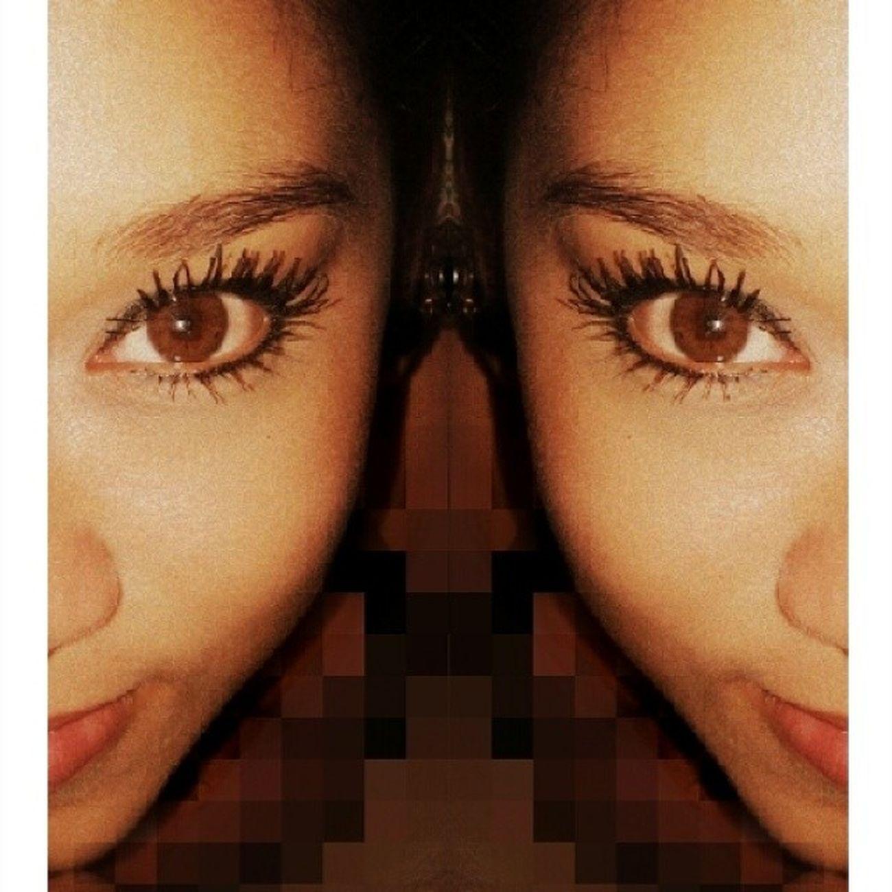 No cambié, sólo crecí y crecer no es cambiar, es madurar. Jelitzha Mirror Eyes Eyesvain Thinkinpositive JelitzaBless