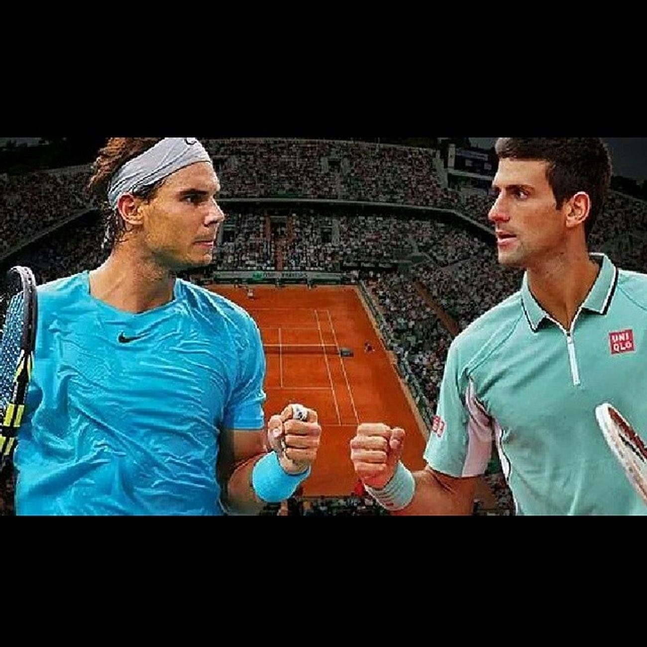 Vamos Rafa! Beat Nole on Sunday!!! TeamNadal Rolandgarros Finals RG14