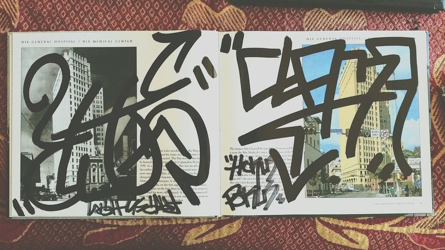 Cause this paper is fun to write on. Graffiti Handstyle Hokuspokus