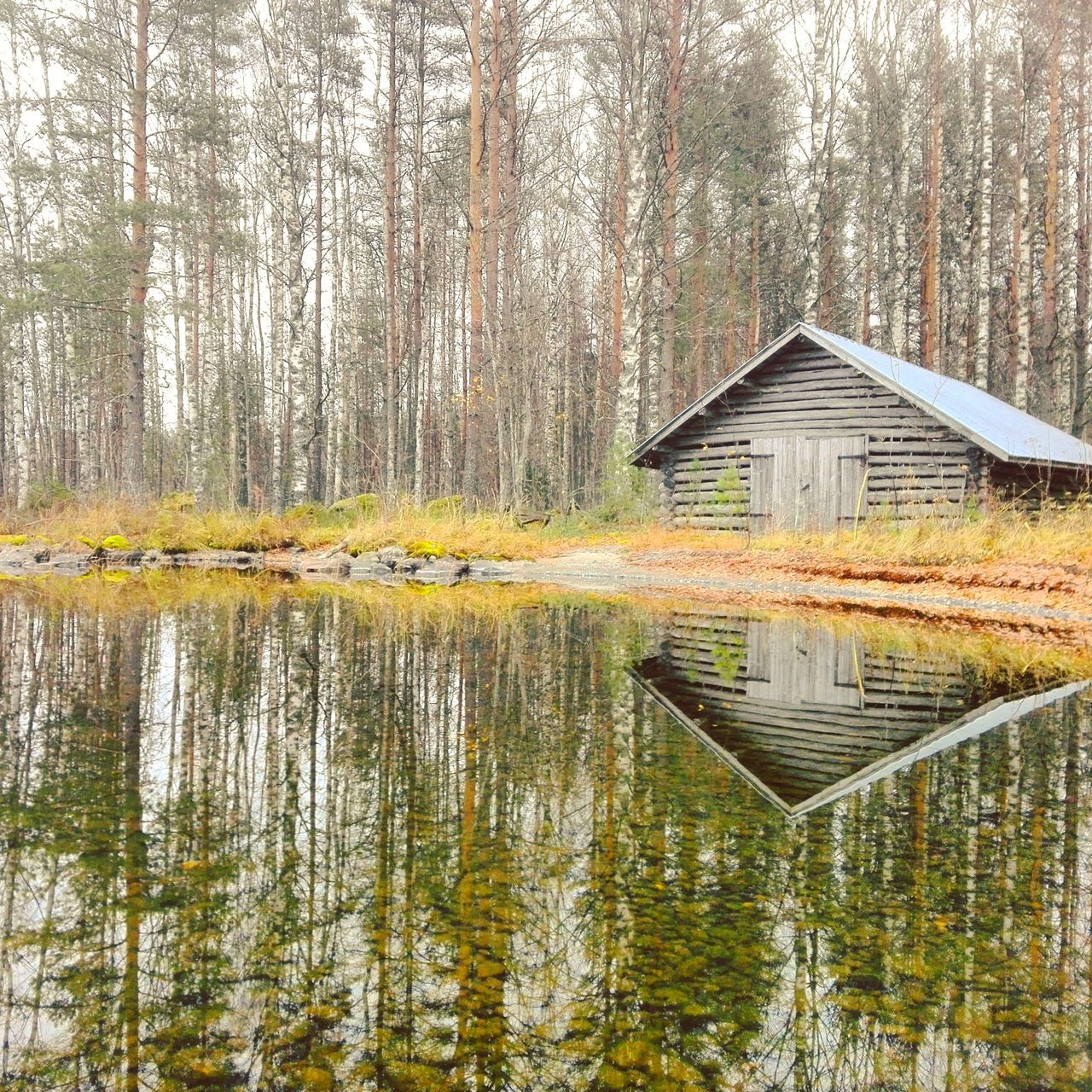 autumn Lake Reflection Finnish Nature Nature Day Water Photography Photographer Beauty In Nature Colorful