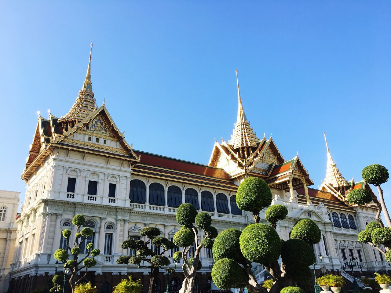 Thailand Grand Palace Bangkok Thailand I Was Born In The Reign Of King Rama9