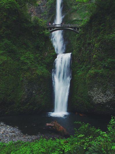 Multnomah Fall, Oregon Memories from Portland