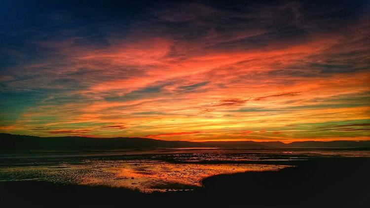 Sunset Silhouettes Sunrise_sunsets_aroundworld Sunset Sunset_collection Dumbarton Shore Scotland Scottish Scenery Shots Eye Em Scotland Scenic View