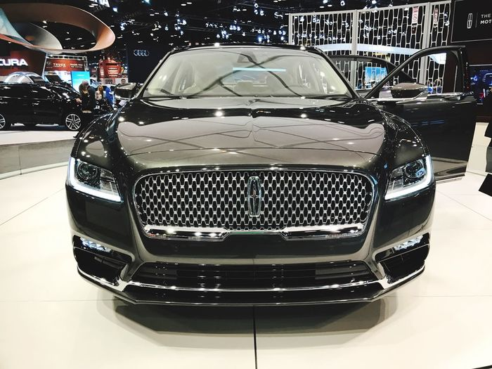 2017 Lincoln Continental Racecar Car Transportation Land Vehicle Mode Of Transport Indoors  No People Close-up Day Lincoln Ford Cars Car Show CarShow 2017 Built FORD Tough