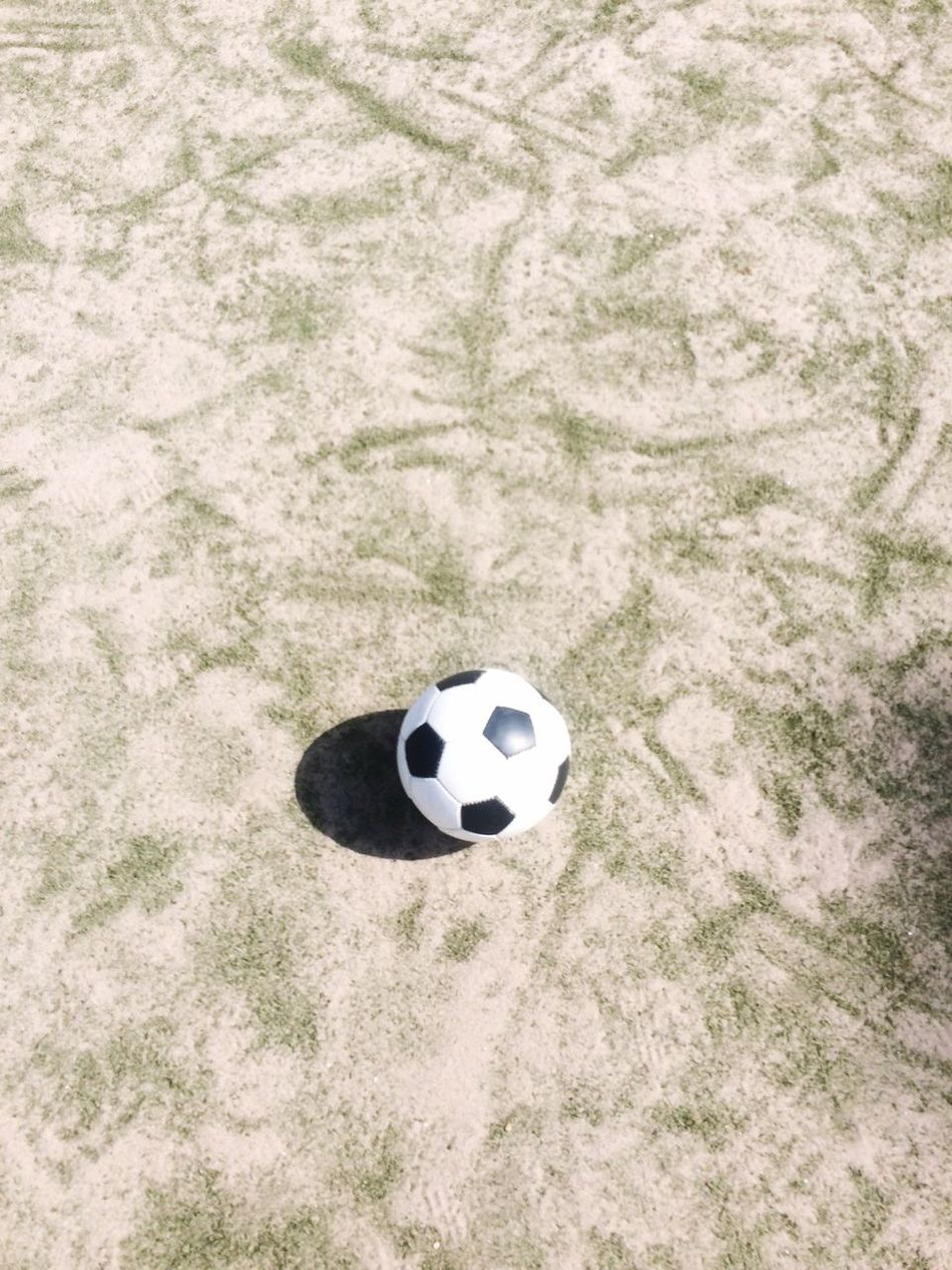 Beautiful stock photos of soccer balls, Day, Elevated View, Ground, No People