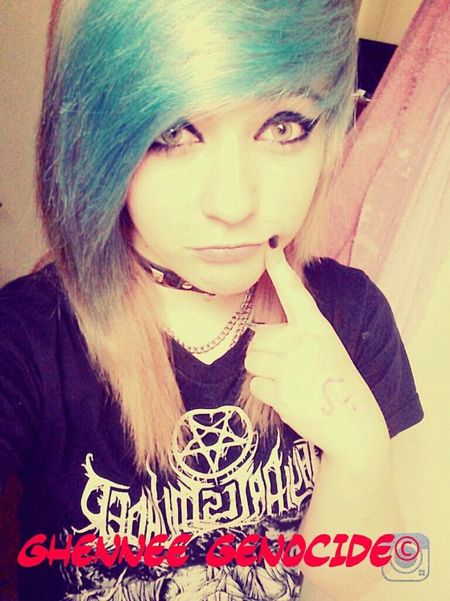 Ghennee Genocide Dyed Hair Awesome Thy Art Is Murder