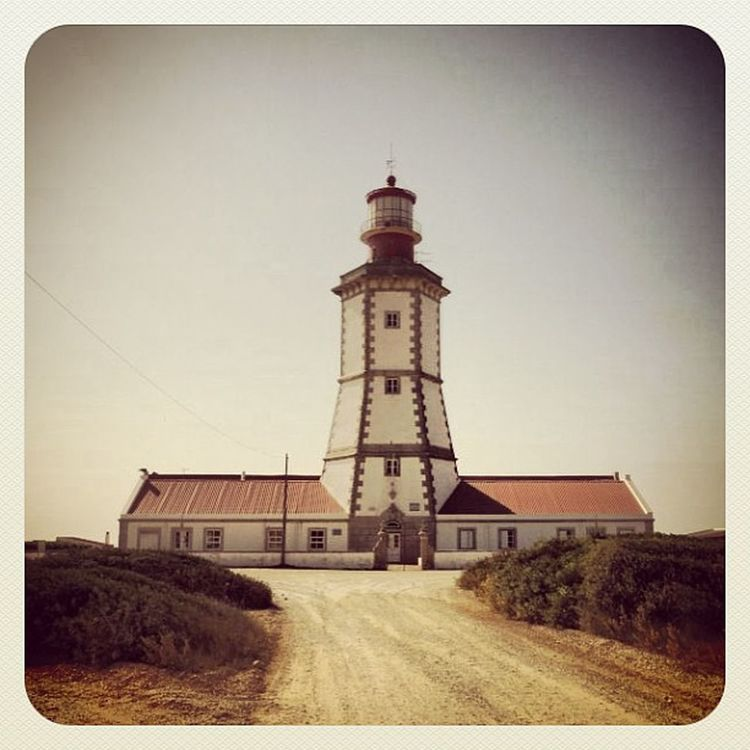 The beautiful Lighthouse at Cabo Espichel Caboespichel