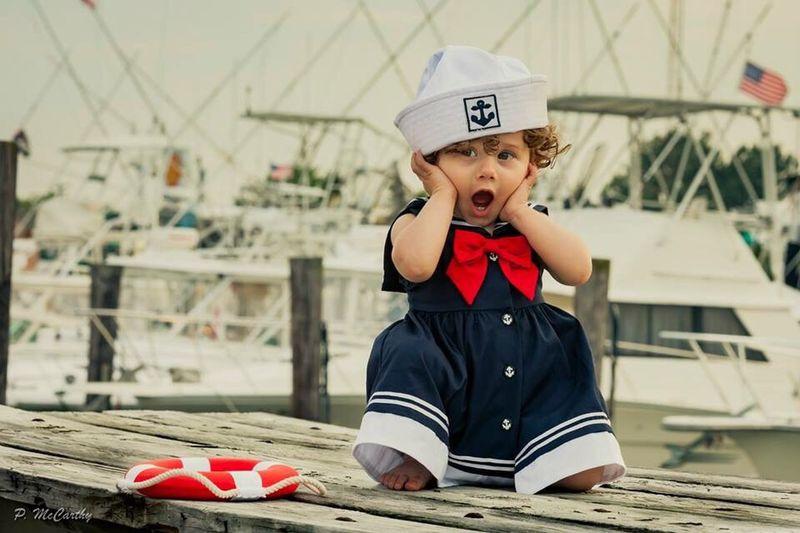 Anchors aweigh Enjoying Life Curls Lightroom Photoshop Photographer Portrait Canon Adobe Little Girl Daughter Sailing Sailboat Cape May, NJ EyeEm Best Shots The Week On EyeEm