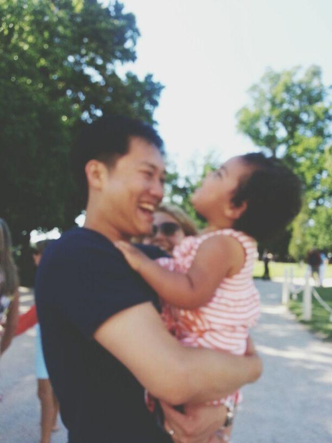 Family Enjoying Life Droidography Keep It Blurry