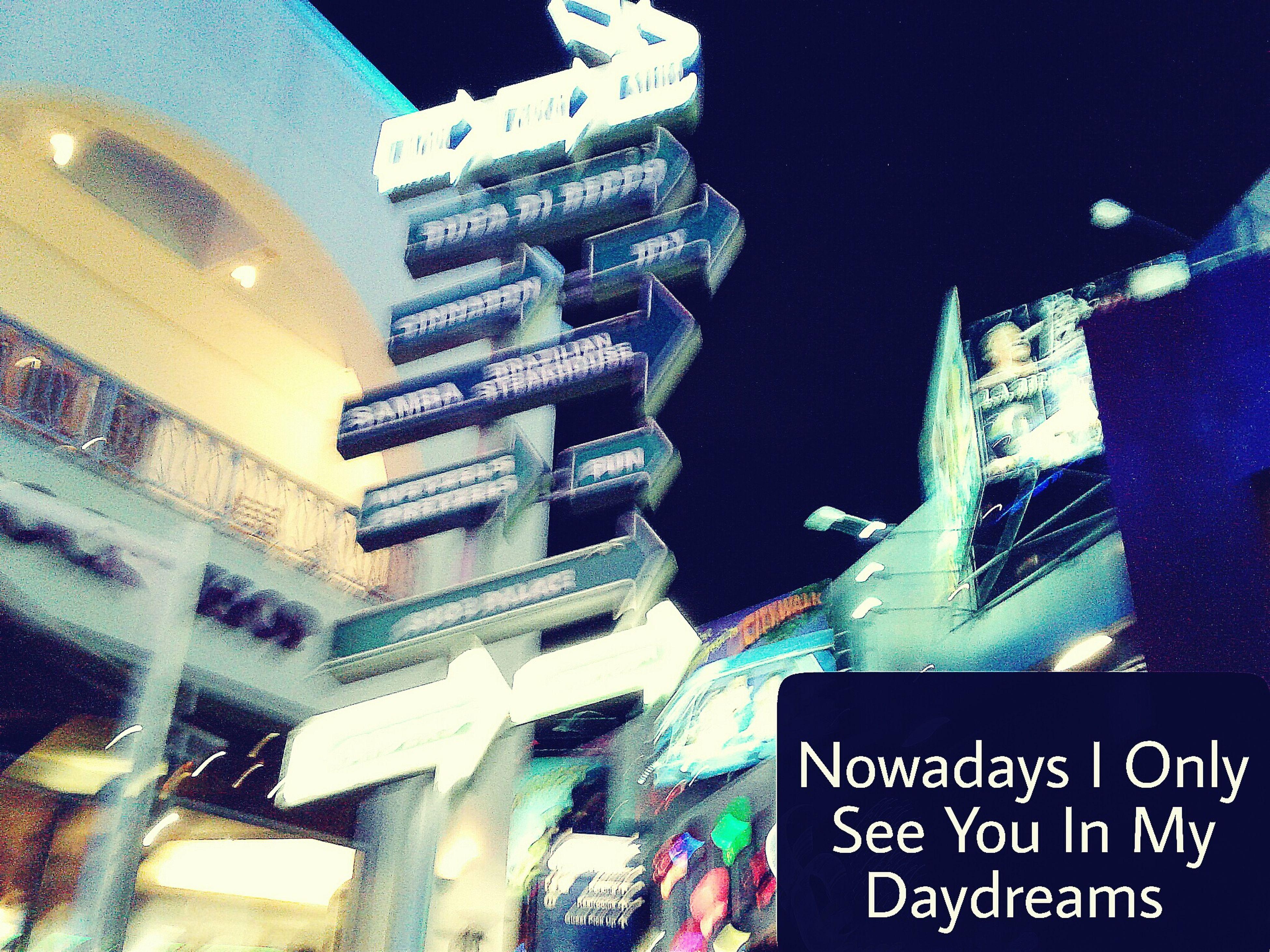 text, city, no people, illuminated, night, architecture, outdoors, neon