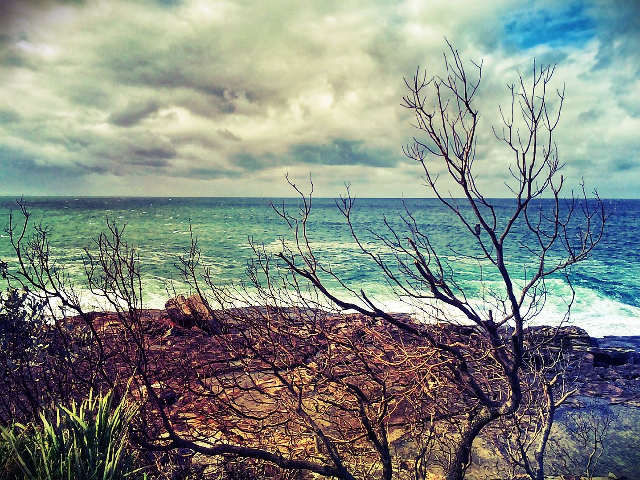 Ocean view Ocean Ocean View OpenEdit Clouds And Sky