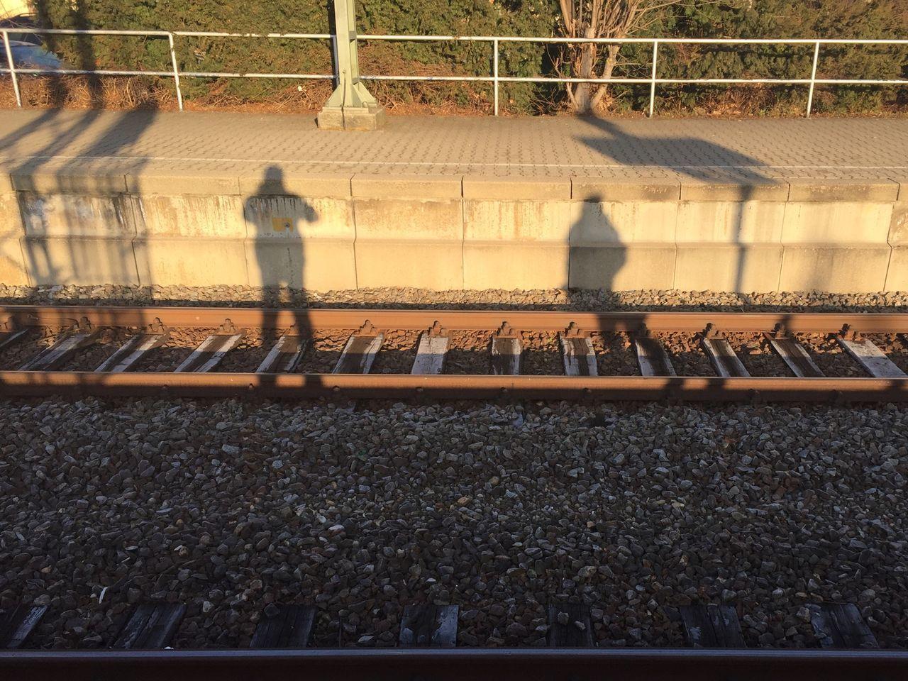 The City Light Shadow Train Station Stuttgart Vaihingen