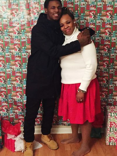 Love you momma, hope to give you the world one day ??❤?☝?✊