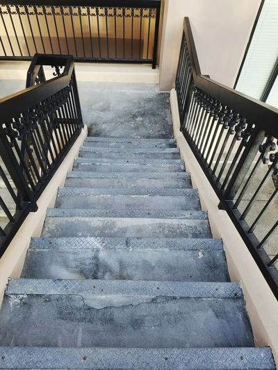 Railing Staircase Steps Steps And Staircases Day No People Architecture Outdoors Structure Building Exterior