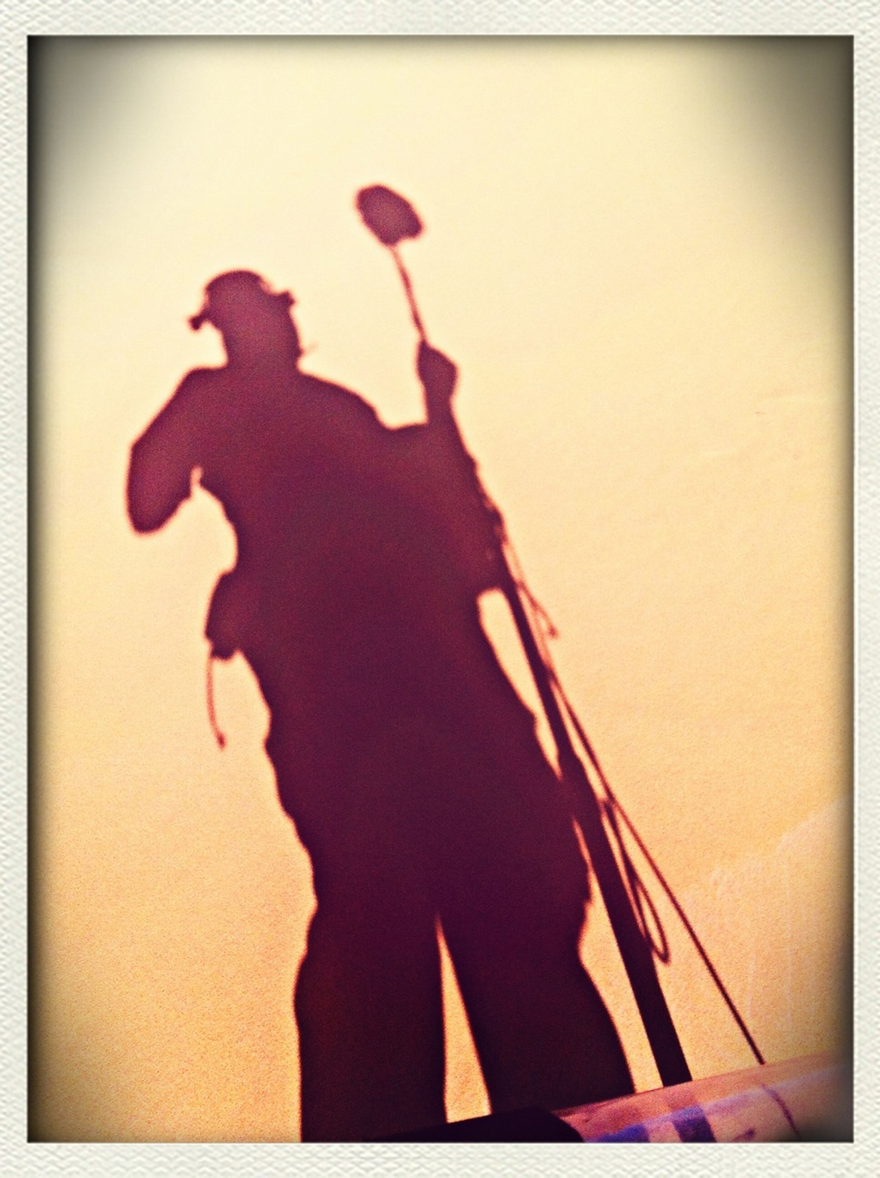 real people, silhouette, one person, men, shadow, standing, outdoors, day, one man only, sky, people