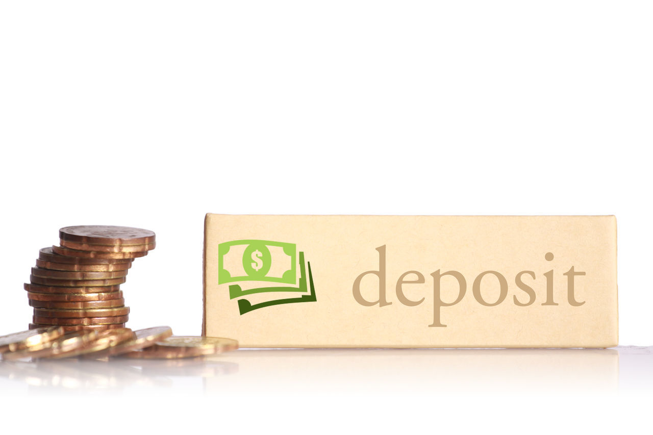 The money with white background in future. Currency Deb Deposit Financial District  Investing Money Profit Rich Value