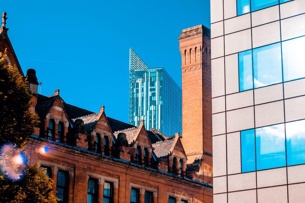 A mixture of old and new Architecture in the beautiful city of Manchester The Architect - 2016 EyeEm Awards cityscapes TakeoverContrast