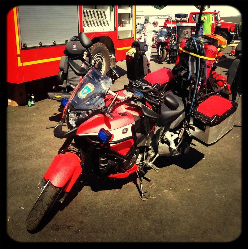 VFR1200x Firefighting motocycle