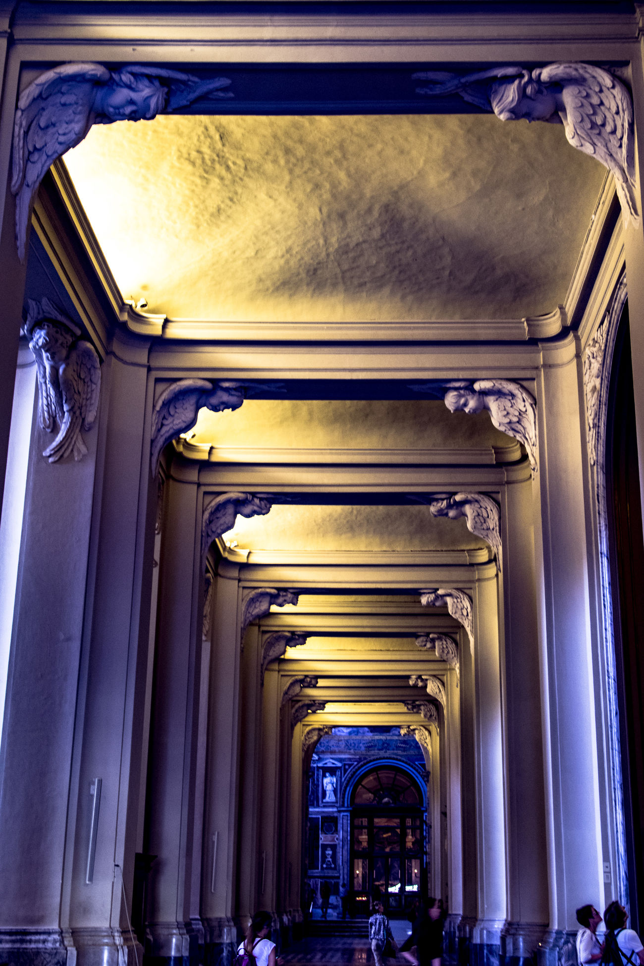 Arch Architectural Column Architectural Feature Architecture Basilica Basilica Di San Giovanni In Laterano Illuminated Interior Internal Internal View Perspective Repetition Roma Rome San Giovanni In Laterano