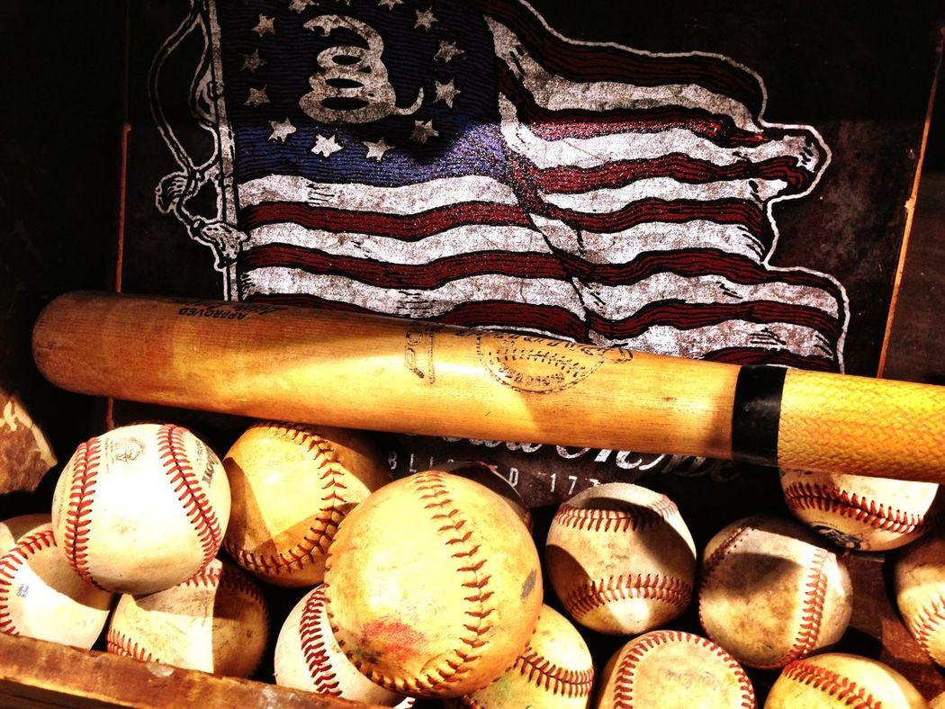 Portrait Of America Flag American Flag Baseball Baseball Bat America Hello World Americanflag Baseball ⚾ Mission