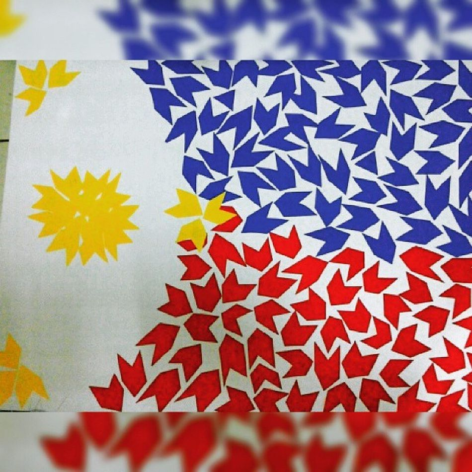 Photo by @heyitsmariajonah aka Me xD LabanPilipinas GoManny @mannypacquiao BattleForGreatness Philippines Flag