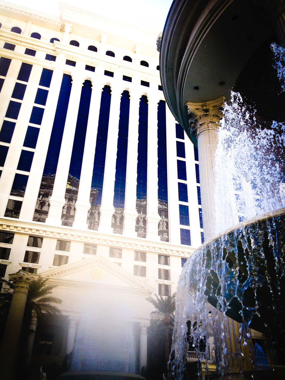 Sin City, relaxing poolside at the Caesar's Palace  after a night out. Las Vegas Nevada Caesarspalace Fountain Looking Up White Building White Stone White Structure Fountains Fountain_collection Windows Tall Windows Window Reflections White Buildings Window Reflection Water Fountain Water Fountains Waterfountain Greek Style Columns Greek Beauty Greekarchitecture Caesars Palace Vacation Destination