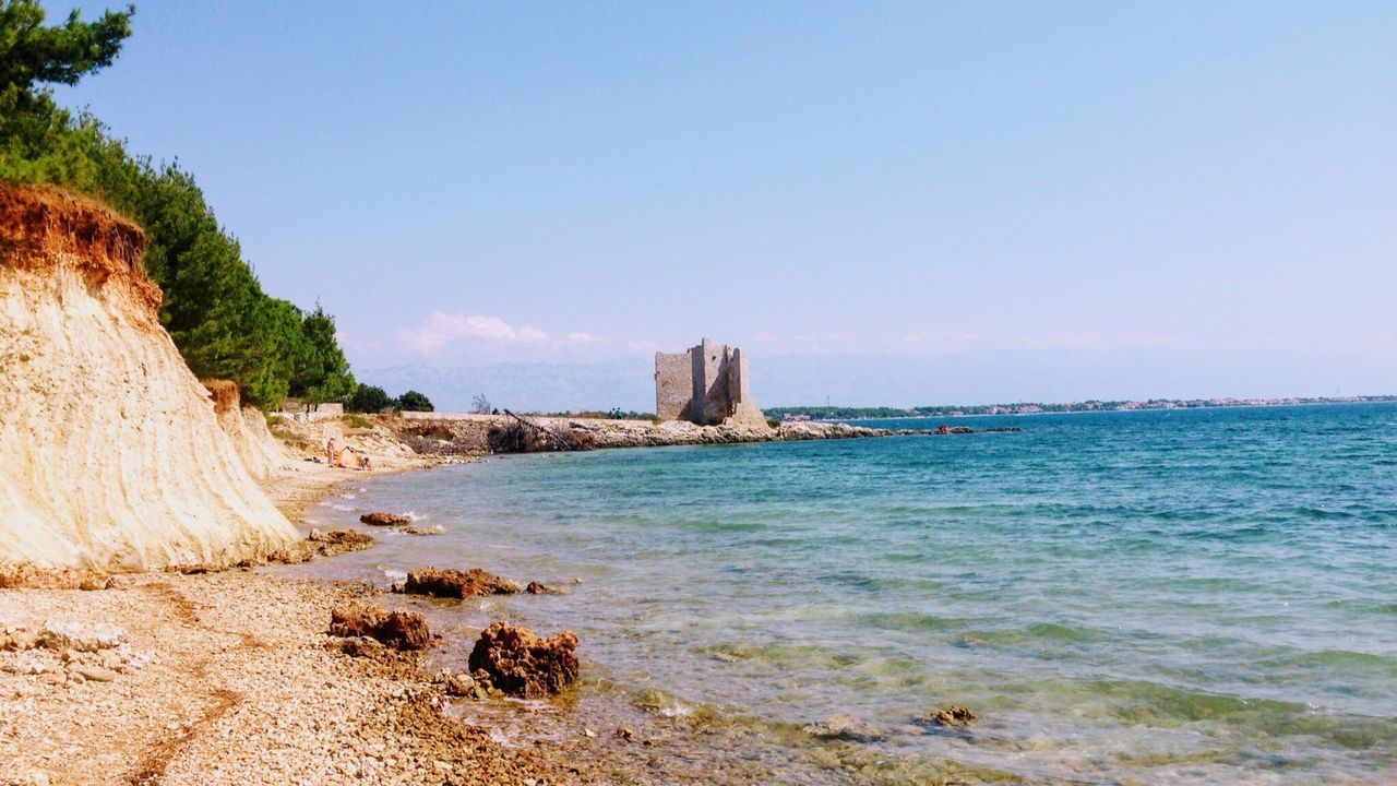 Sea Nature Water Beach Beauty In Nature Clear Sky No People Outdoors Sky Architecture