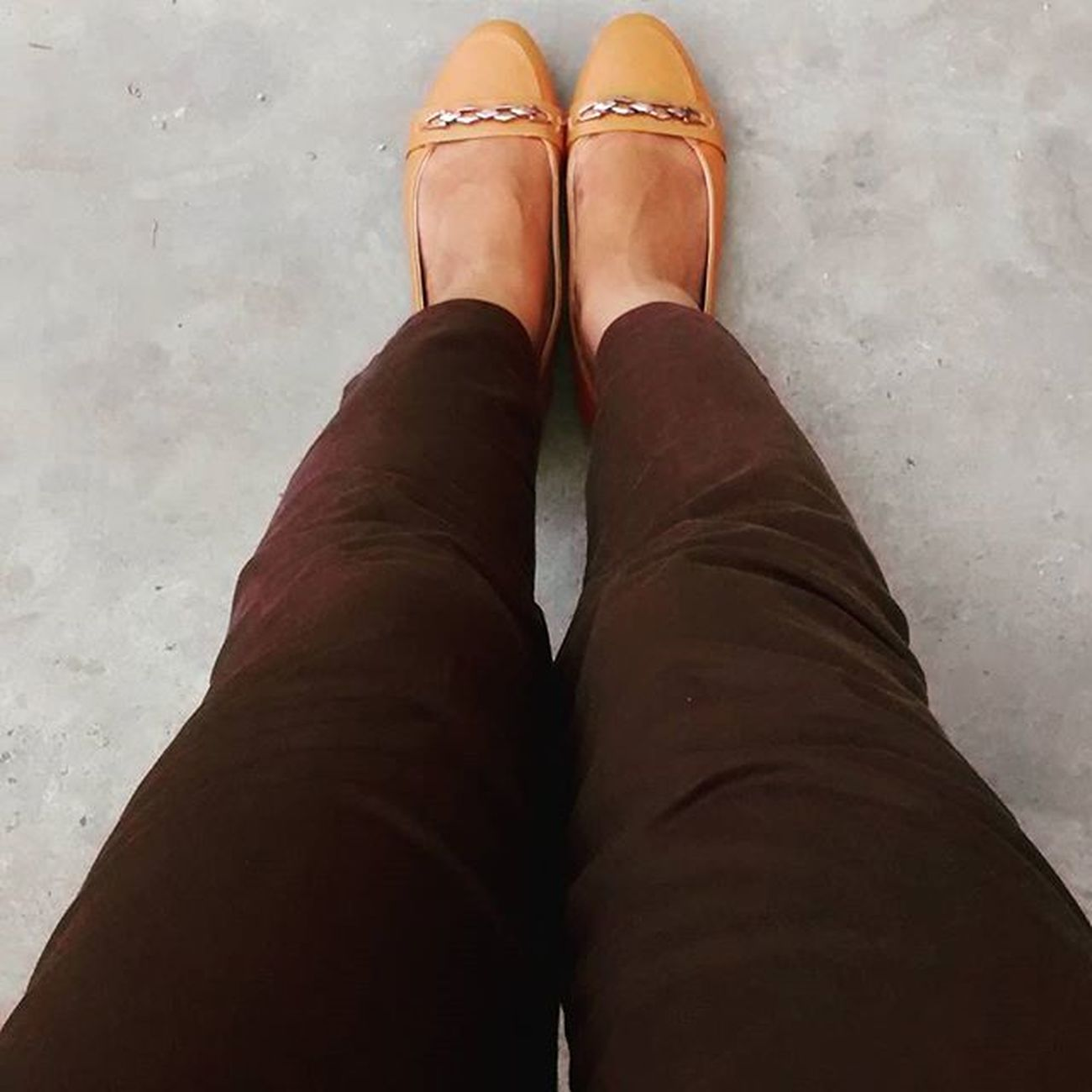 @bata.india Shoeselfie ClickedWithBata Contest Alert Loafers Beige Color Office Time Match With Dark Brown Trouser  Happy Feet Me Instapic Footwear Love