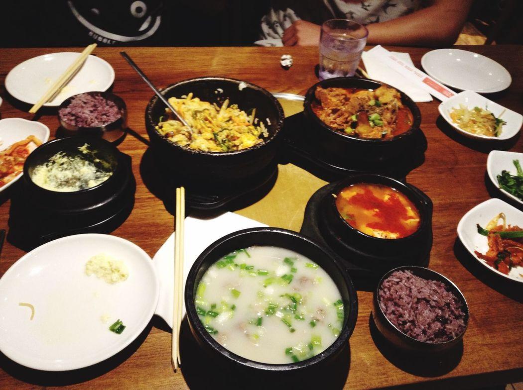 Ktown, Manhattan NYC Foodadventure Koreanfood Bibimbab Vgvg