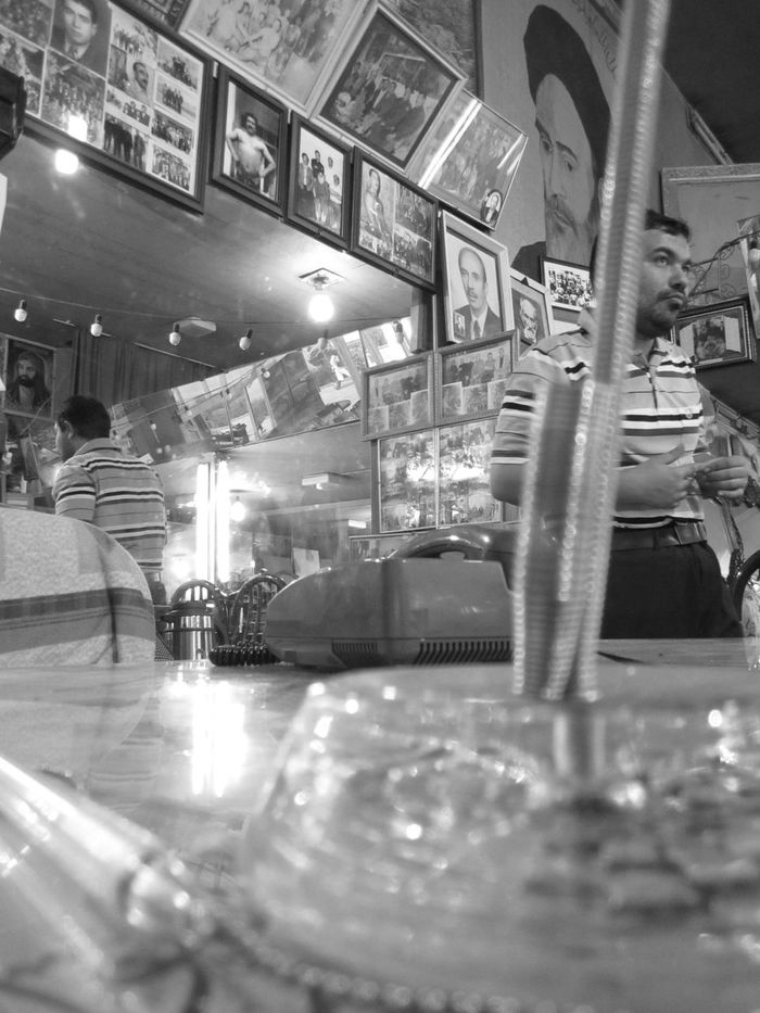 And He Goes Like In The Movies Indoors  Day Soul Black & White Blackandwhite Real People Blackandwhite Photography Black And White Black And White Photography Black&white City People Adult Lifestory Silent Moment MJ028