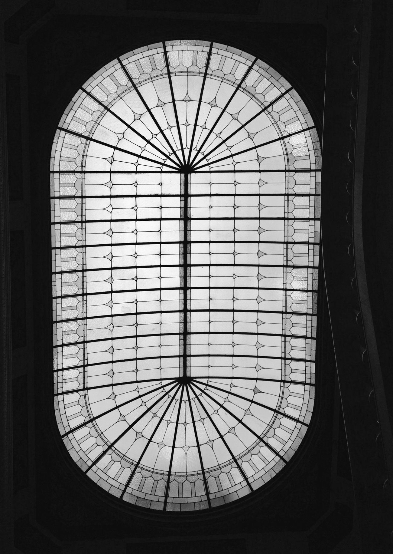 Architecture Built Structure Ceiling Lookingup Architecture Architecture_collection Cúpula Vitral EyeEm Best Shots - Black + White Black And White Blackandwhite Photography Blackandwhite Black & White Bw_collection Architecture_bw EyeEm Gallery Architectural Detail Architecturelovers IPhoneography Iphoneonly Modernisme Barcelona