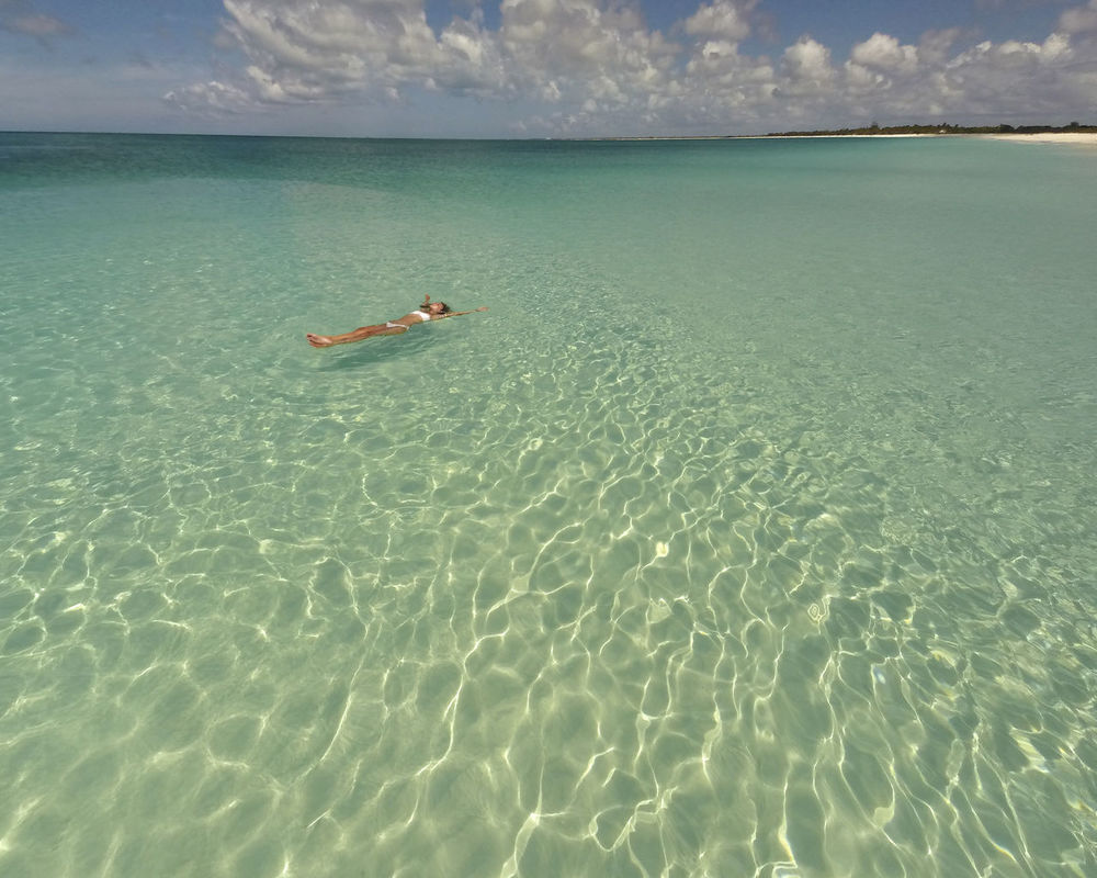 Barbuda, Caribbean Caribbean Sea Lost In The Landscape Sunny Caribbean Horizon Over Water Island Nature One Person Sea Sky Tropical Water