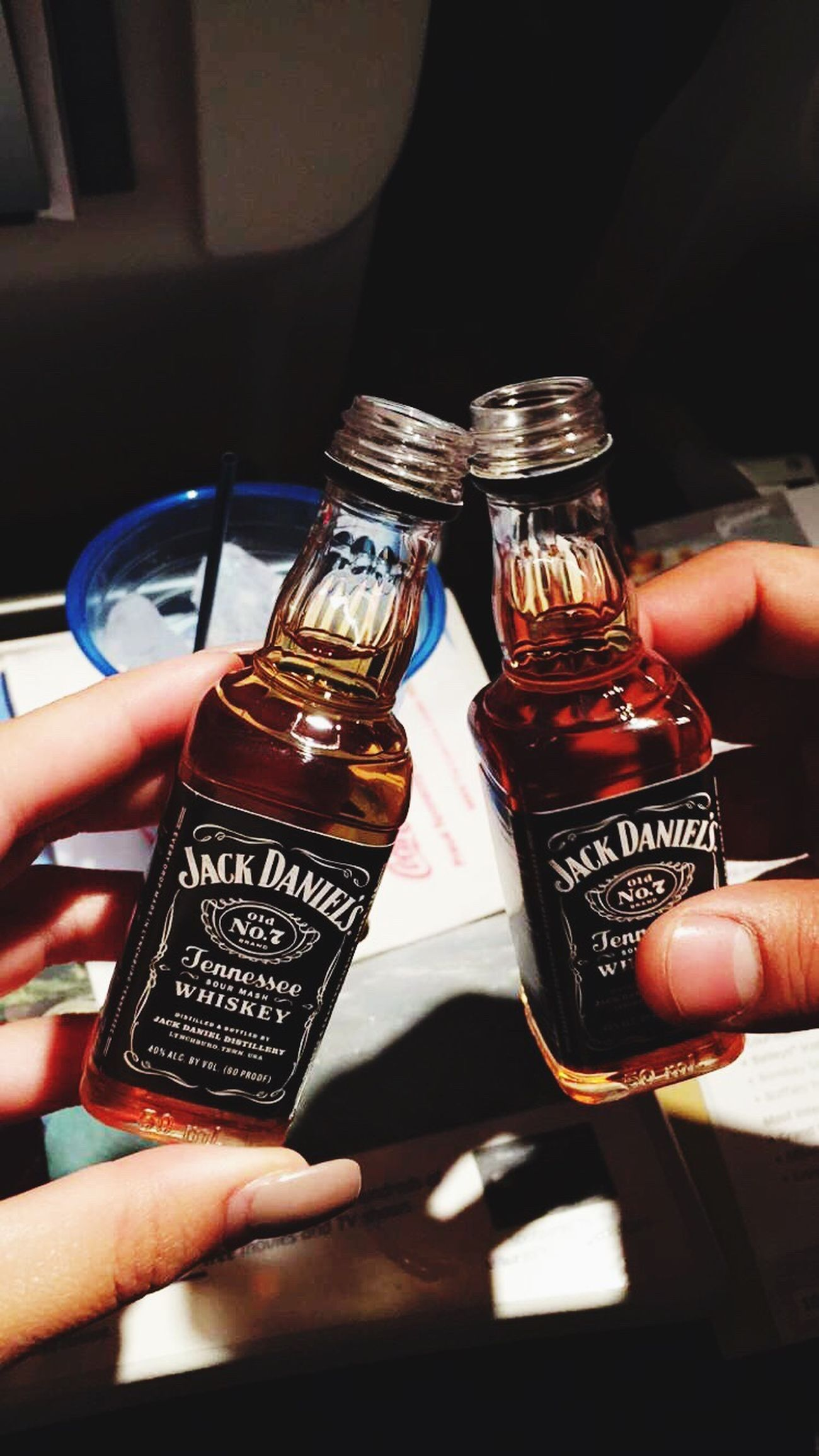 Jack on the plane cause that's what we about. Travelsizedjack