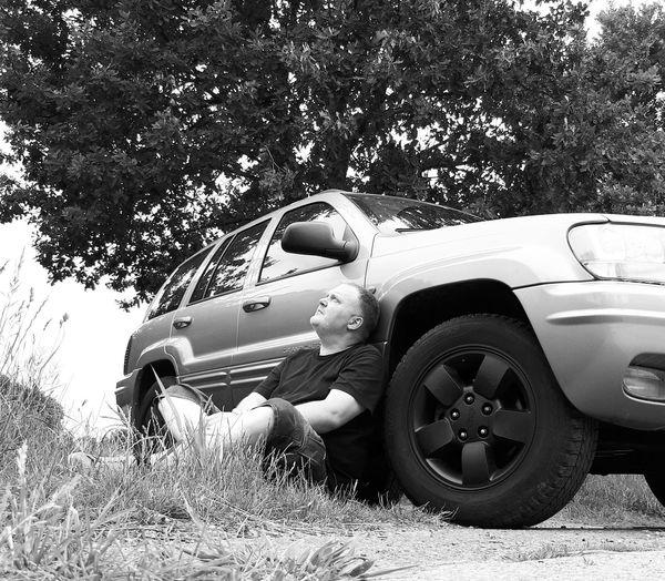 Jeep & Driver Car Transportation Land Vehicle Day Outdoors Jeep JEEP Grand Cherokee Jeep Life ❤ Jeeplife Grandcherokee  4x4 Offroad Newoneyeem EyeEm Best Shots Itsme