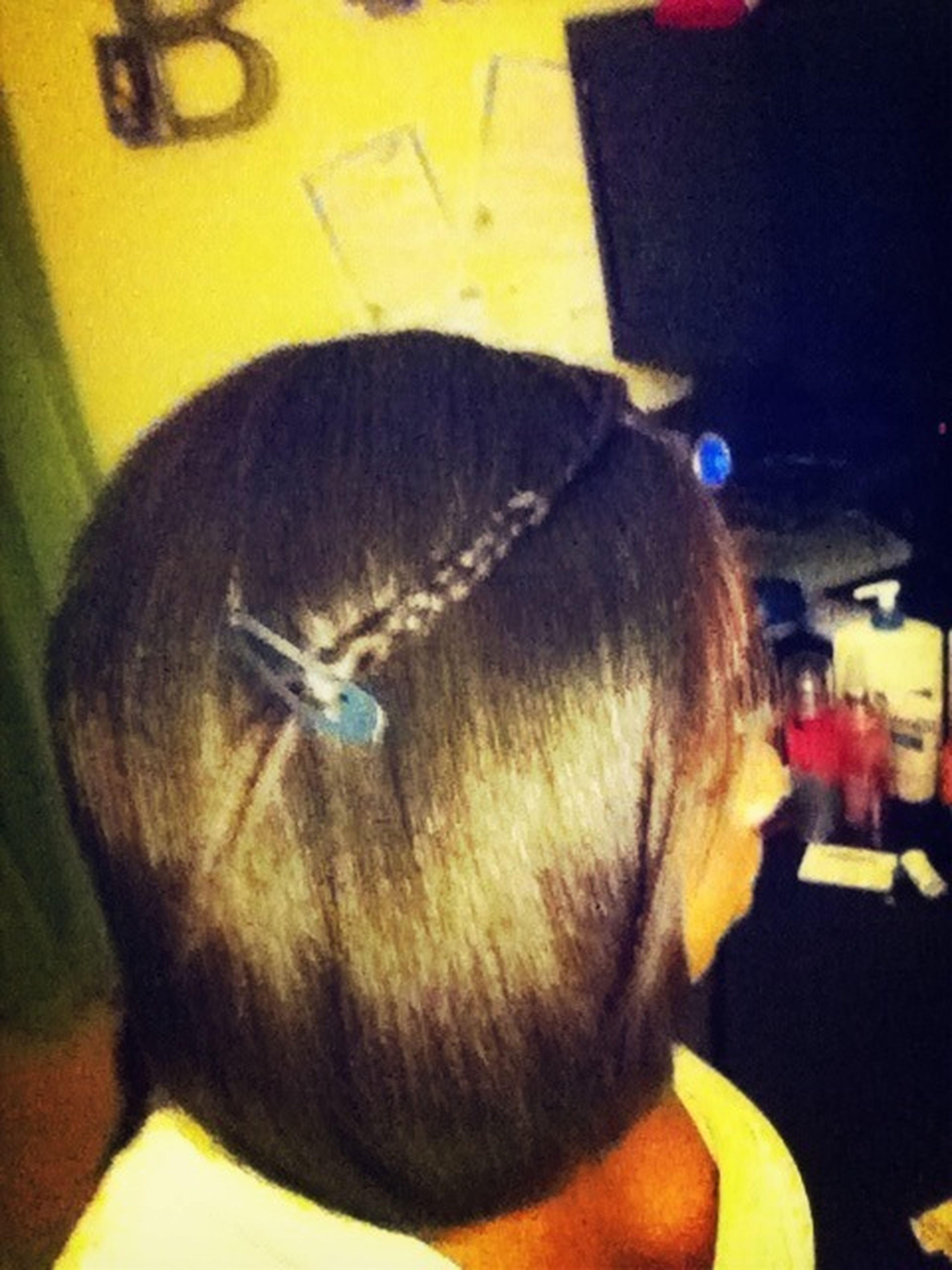 My Hair Yesterday :)