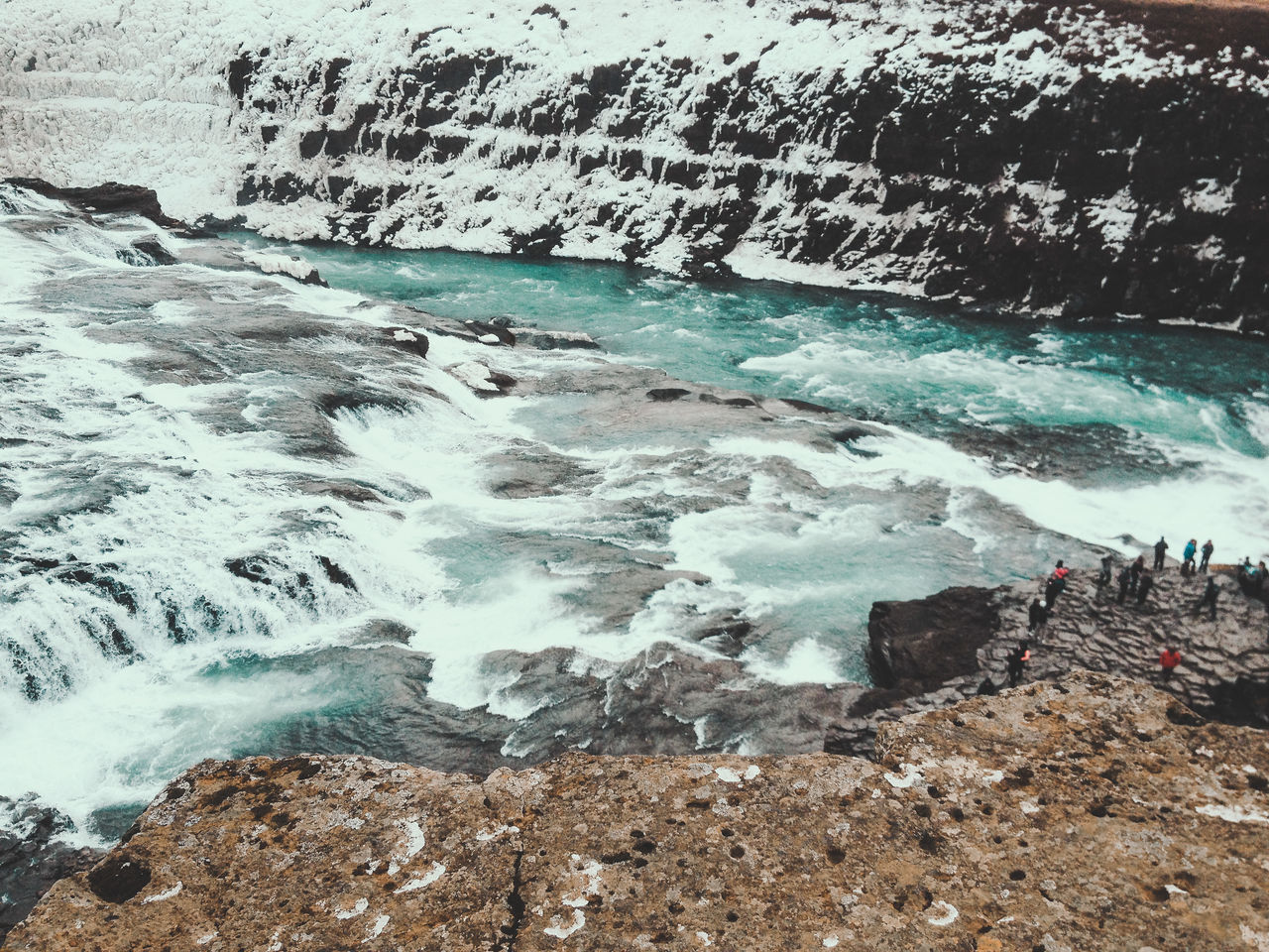 Beautiful stock photos of iceland, Beauty In Nature, Cold Temperature, Day, Flowing Water